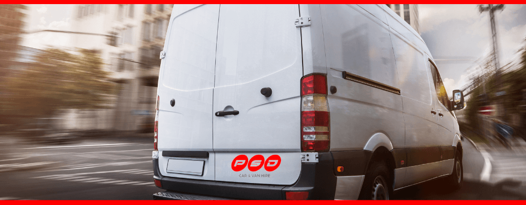 Van hire in St Helens at PSD