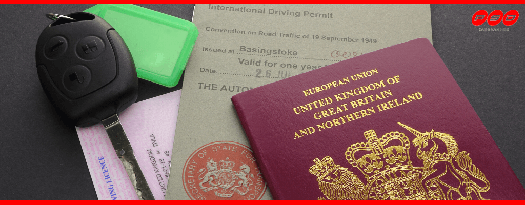 what you will need to drive a rented vehicle abroad