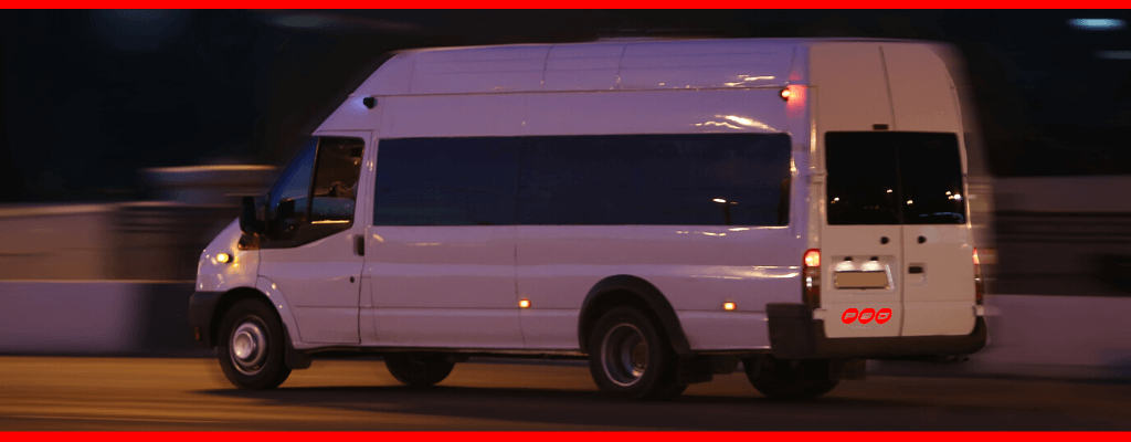 minibus hire in St Helens for a Christmas party