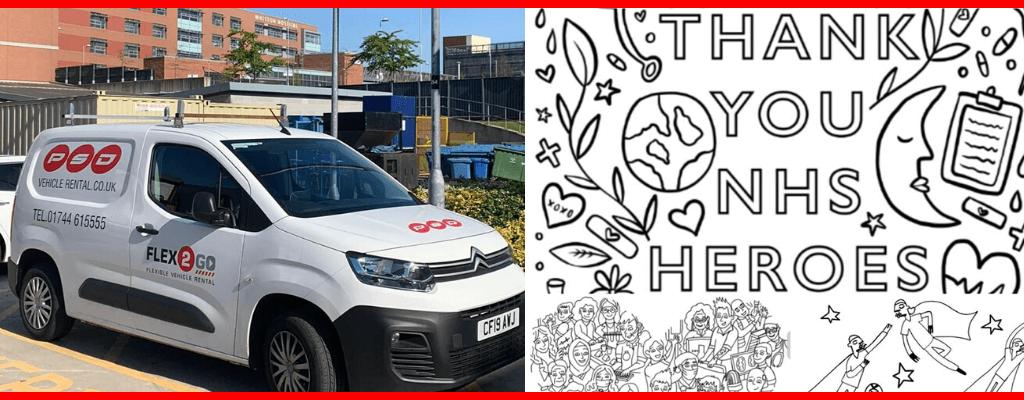 van hire in St Helens during COVID-19 lockdown
