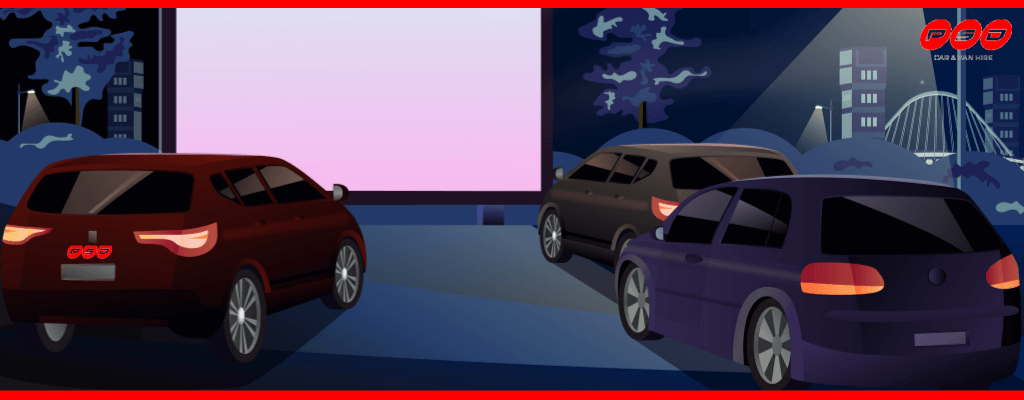 Image to represent drive-in cinemas in 2020